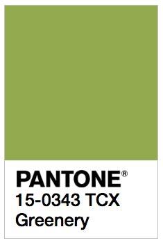 Greenery. Frescura y vitalidad llegan con el color Pantone para el 2017