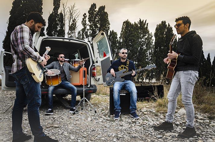 Grabación de videoclip en Nº5 Burger. Espacio proyectado pro Francisco Segarra.