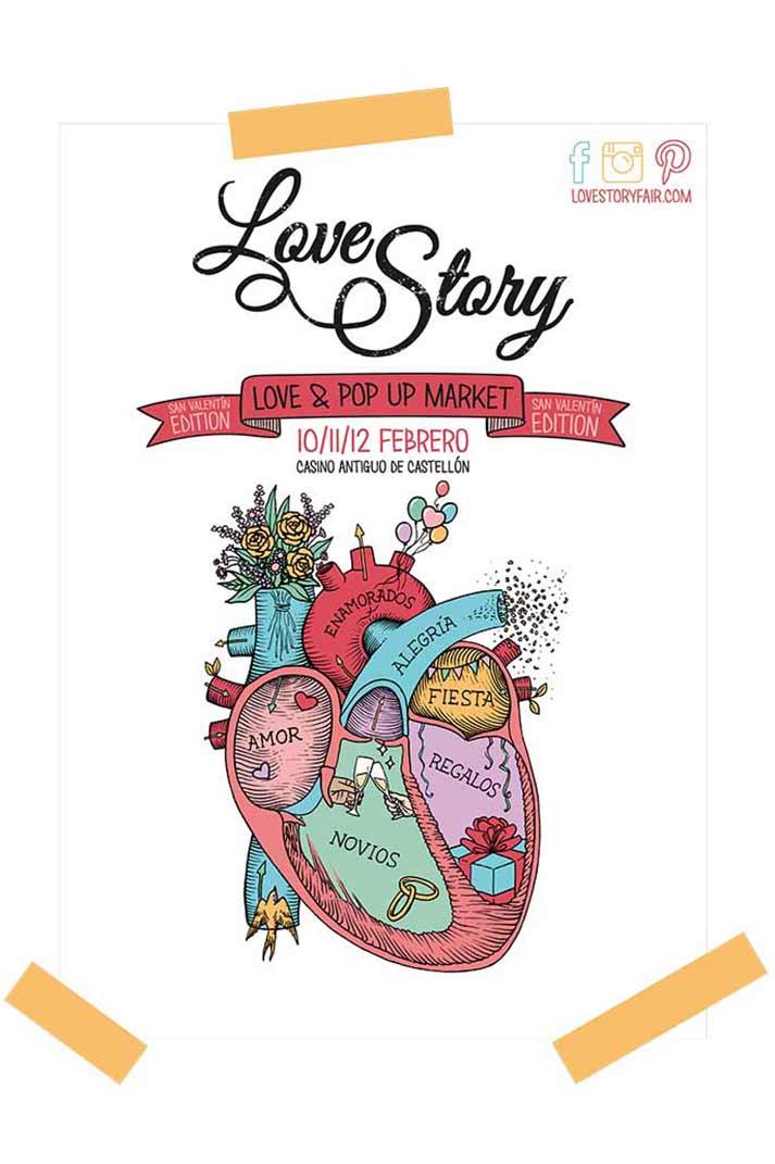Love Story. Patrocinador Francisco Segarra.