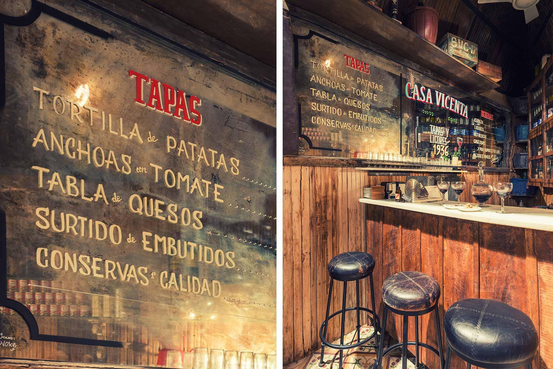 Casa vicenta decoraci n dise o y proyecto innovador para bares - Decoraciones de bares ...