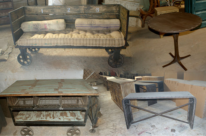 Revive el mobiliario industrial en la decoracion actual