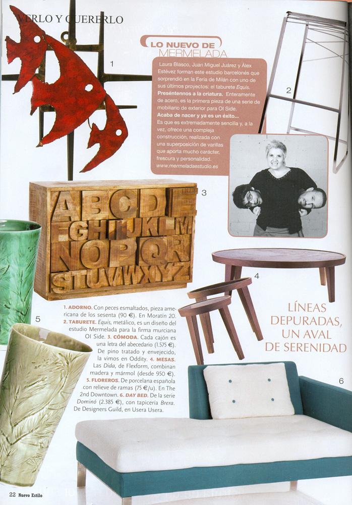 Pagina revista nuevo estilo 2010