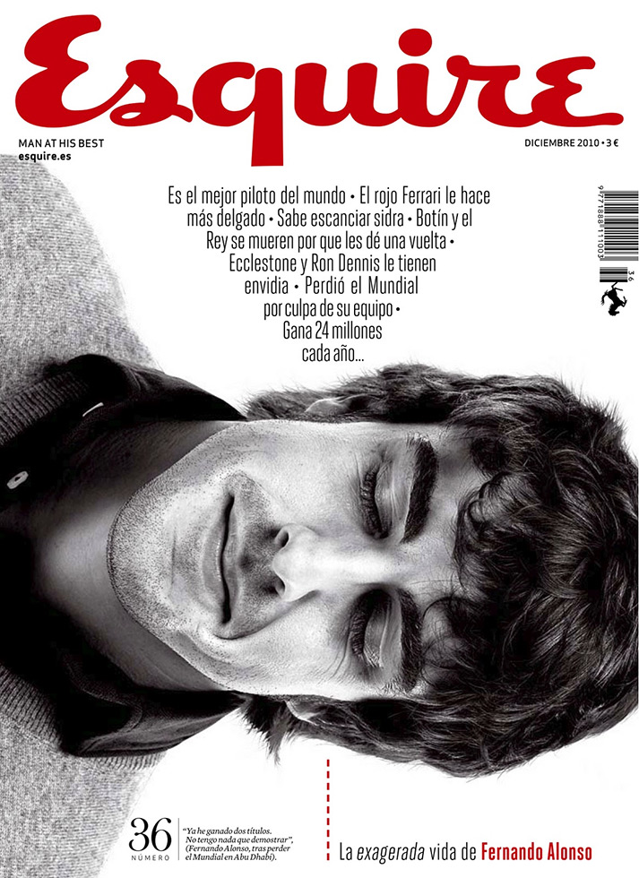 Fotos. Portada Esquire