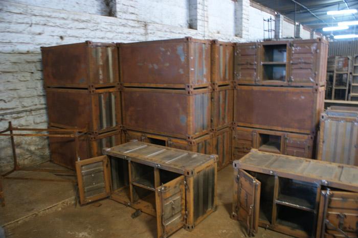 Novedades mobiliario vintage estilo industrial marca fs - Estilos de mobiliario ...