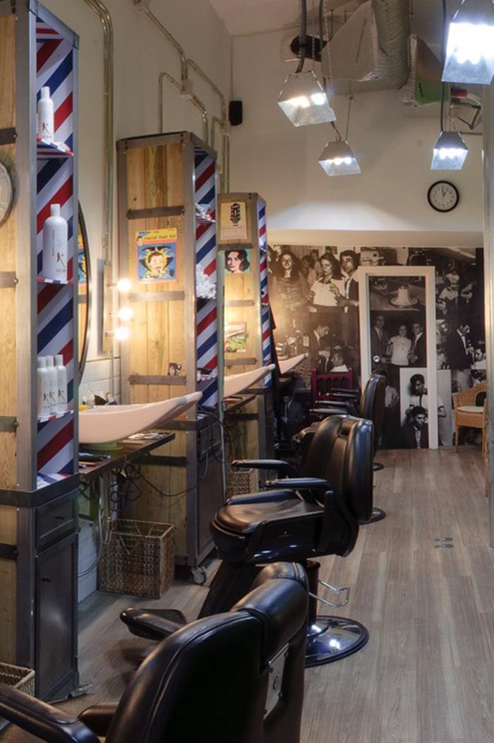 Proyectos muebles vintage mobiliario retro e industrial - Salones de peluqueria decoracion fotos ...