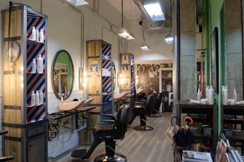 Proyectos decoracion e interiorismo fs peluqueria vintage - Ideas para decorar una peluqueria ...