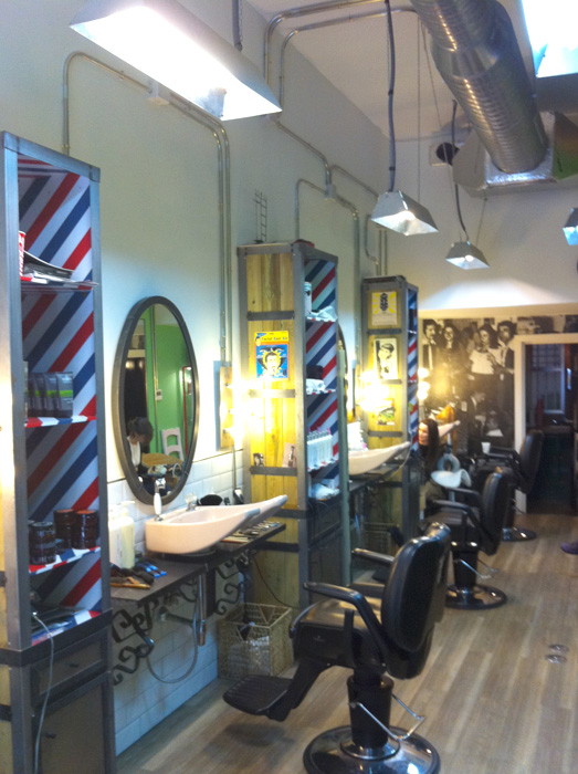 Proyectos decoracion e interiorismo fs peluqueria vintage - Decoracion de peluqueria ...