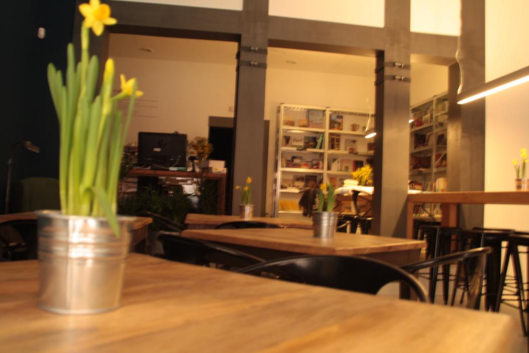 Proyecto decoracion Italiana Madrid. FS Proyectos decoracion cafeterias.