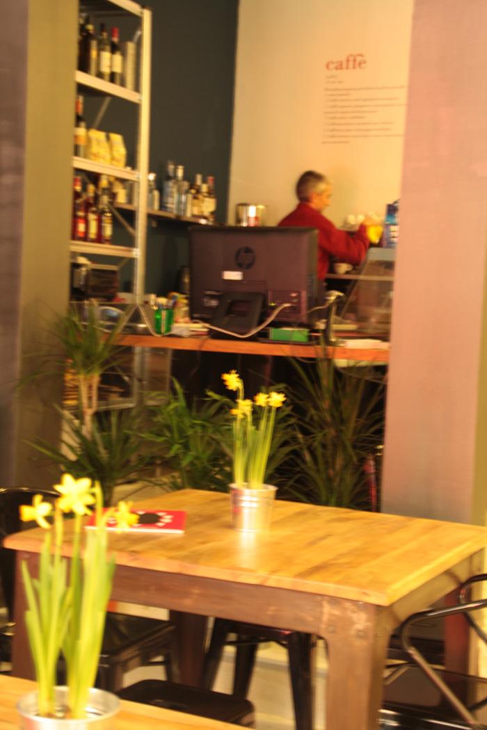 Proyecto decoracion Italiana Madrid. FS Proyectos interiorismo cafeterias.