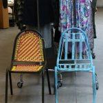 Foto de las sillas Escubi y Jodphur en Design Market mad 2011.