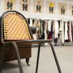 Foto de la silla Escubi en Design Market mad 2011.