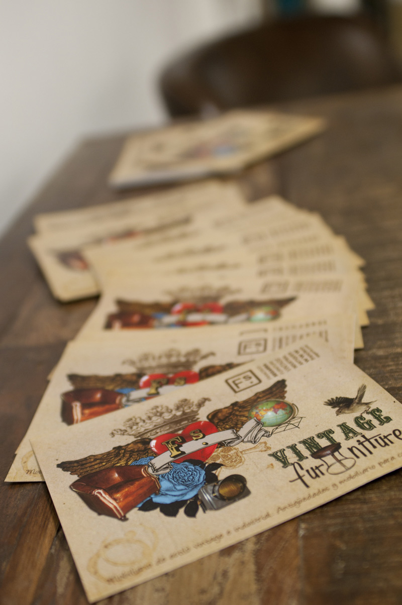 Tarjetas de visita FS para Design Market mad 2011