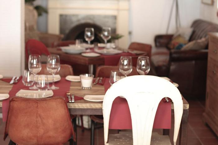 Francisco Segarra, proyecto inteiorismo restaurante Moustique ubicado en Javea