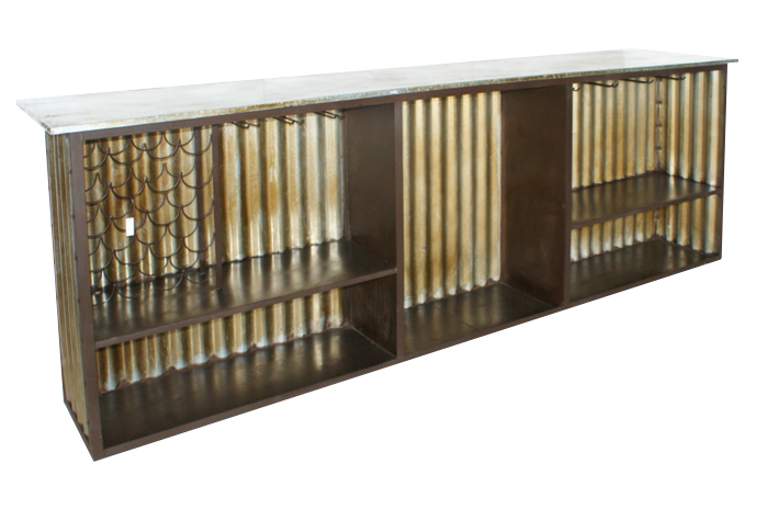 Mobiliario contract dise o moderno estilo vintage industrial - Muebles de chapa metalica ...