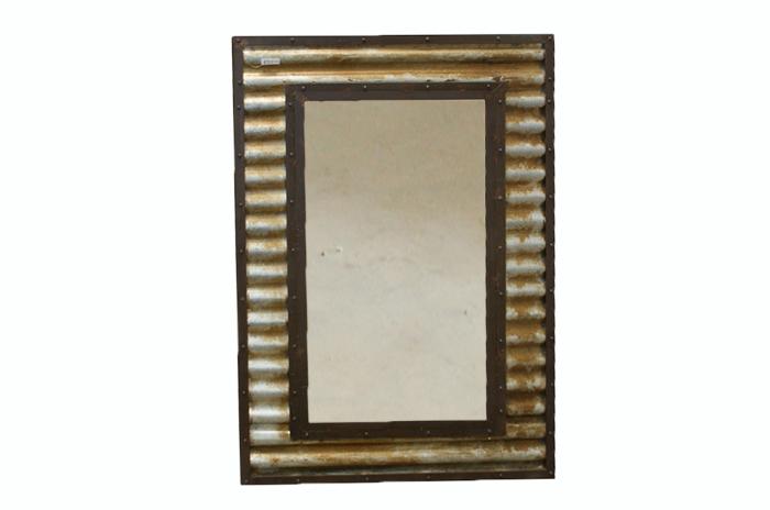 Espejo de estilo industrial