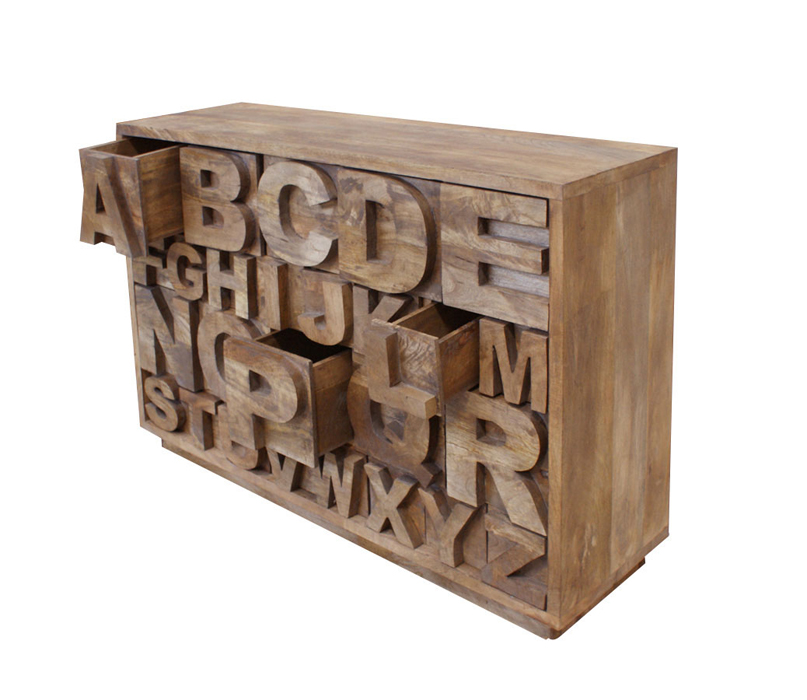 Mueble Alphabet Revista Nuevo Estilo