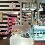 proyecto de interiorismo para helederia con muebles de Francisco Segarra