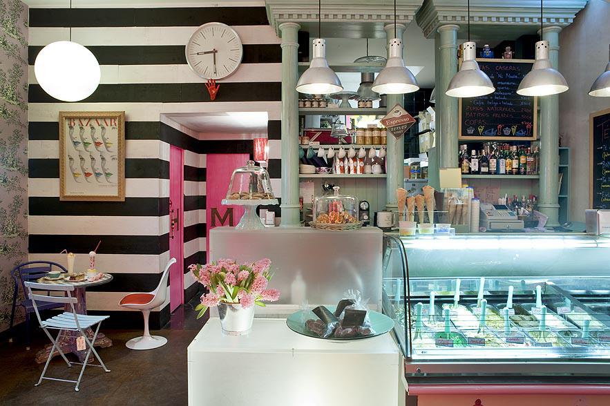 Proyecto interiorismo hosteler a sevilla helader a helarte - Diseno de interiores heladerias ...