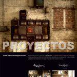 Newsletter número 2 de la firma FS (Francisco Segarra).