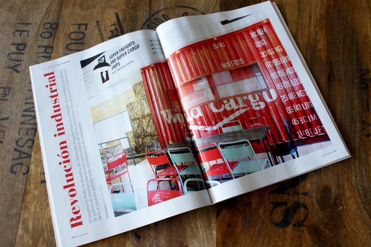 Reportaje revista Proyecto Contract