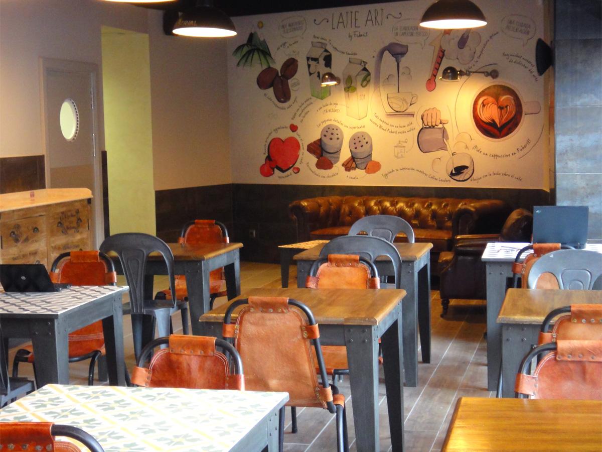 Cafeteria Faborit Torre Europa, Madrid