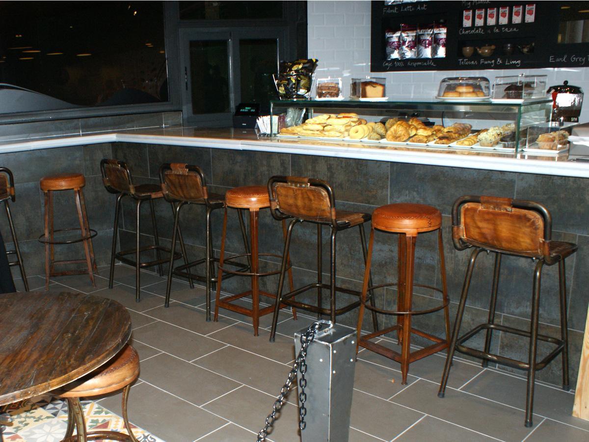 Faborit, proyecto de interiorismo para cafeterias.