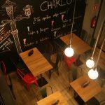 Fotos del interior del local de la franquicia Charlotte en Barcelona