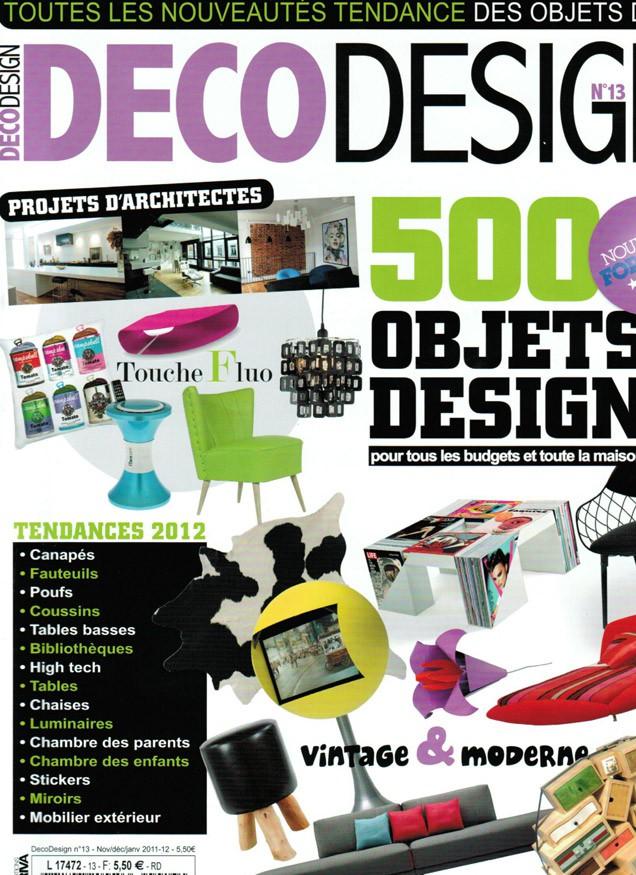 Portada revista Decodesign en francia