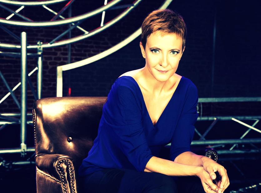 Foto de Eva hache presentadora del club de la comedia
