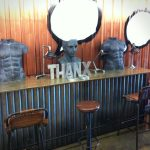 Foto del mobiliario FS en el showroom de la firma thandecor de estambul