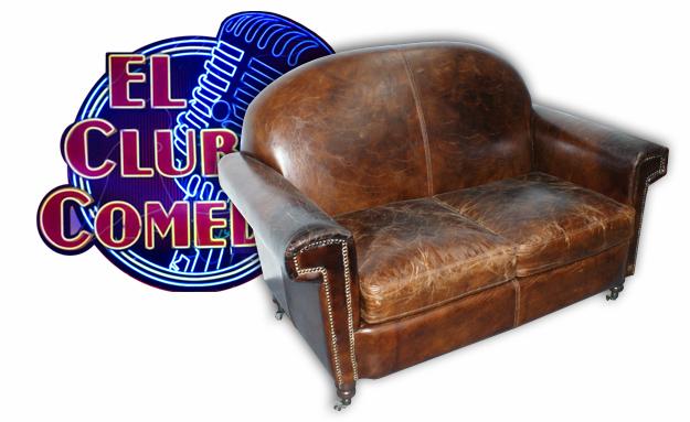 Foto del sofá Furrier en el programa de la sexta, el club de la comedia