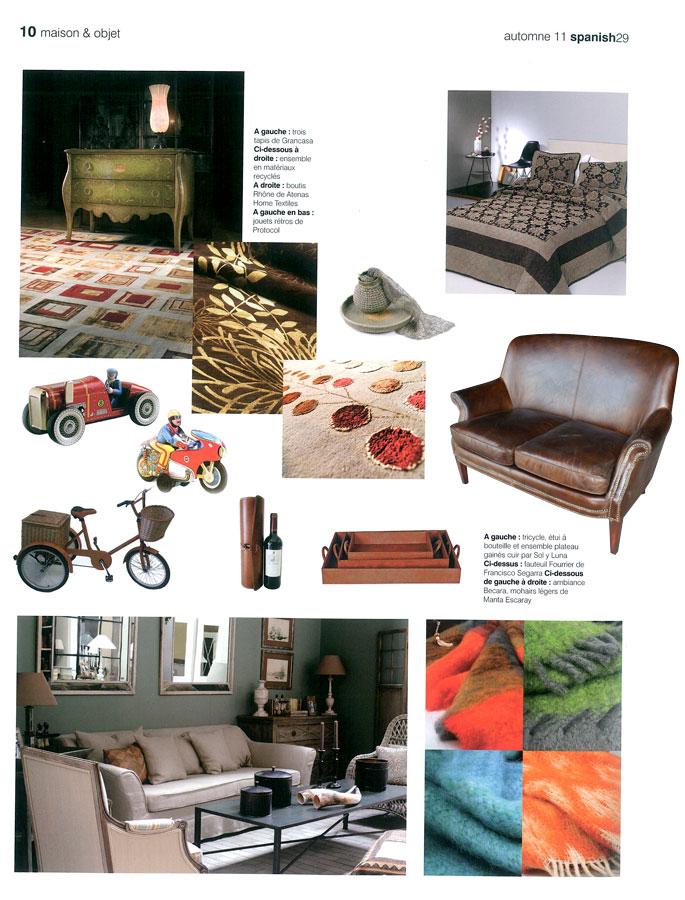 Reportaje sobre las tendencias en interiorismo y decoración
