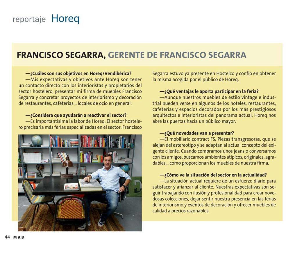Foto del reportaje de la revista de hostelería mab HOSTELERO
