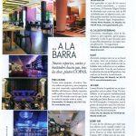 Foto del reportaje de la revista ELLE sobre hostelería