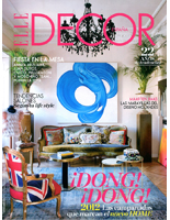 portada de la revista de decoracion elle decor