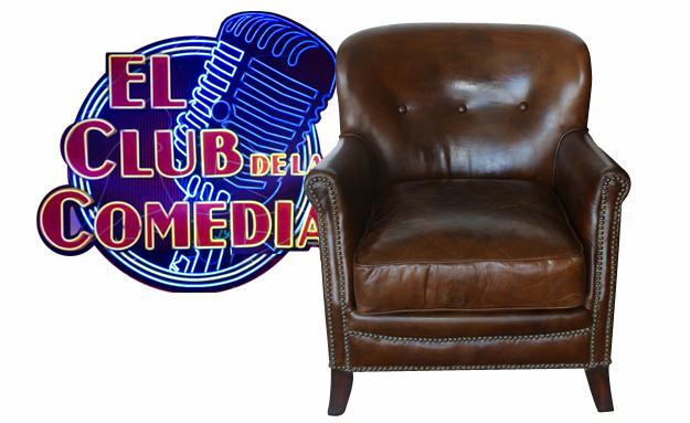 Foto del sillón Motto en el programa de la sexta, el club de la comedia