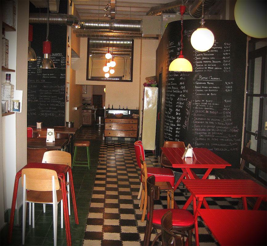 Decoraci N Del Bar La Bulla Con Muebles Para Restaurantes Fs