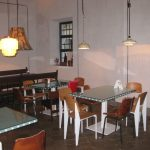 Decoracion interior del restaurante La Bulla con mobiliario FS