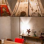 Estética retro en el bar la Bulla con mobiliario contract de la firma FS