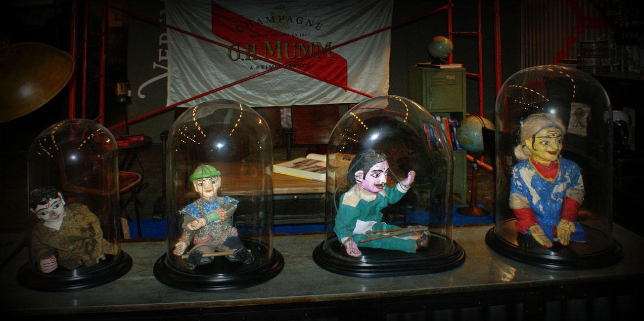 Fotos del stand de la firma de mobiliario contract FS en Maison&Objet 2012 Paris