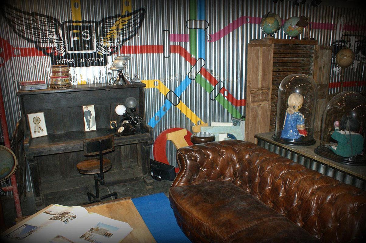 Stand de la firma FS muebles en Maison&Objet 2012