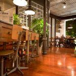 Proyecto de interiorismo, decoración en el restaurante La Musa Latina