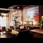 Decoracion vintage en el restaurante FairplayBcn