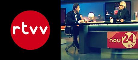 Francisco Segarra en el programa la nit de canal nou 24