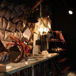 Imágenes del mobiliario de la firma Francisco Segarra en el evento realizado por Pamesa