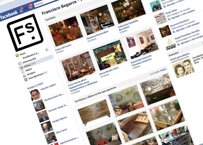 Facebook de la firma de muebles FS Francisco Segarra