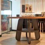 Mobiliario del restaurante Alumbre de Málaga