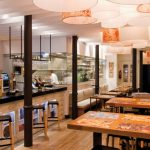interiorismo y decoración del restaurante Alumbre