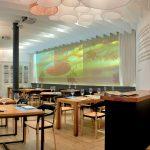 Interiorismo y decoración del restaurante Alumbre de Málaga