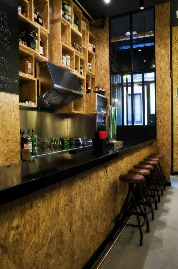 Muebles vintage en proyecto decoracion restaurante vi cool - Restaurante de sergi arola ...